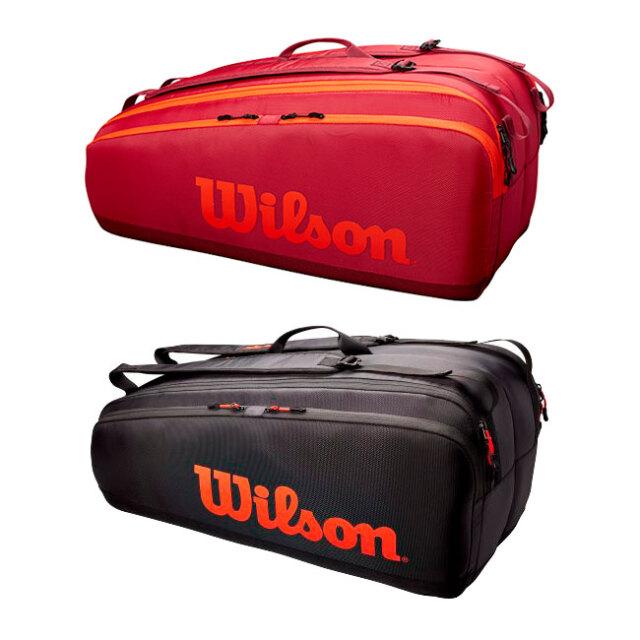 [12本収納]ウィルソン(Wilson) 2021 TOUR ツアー 12PK ラケットバッグ テニスバッグ WR8011201001/WR8011202001(21y5m)