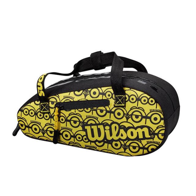 ウィルソン(Wilson) 2021 Wilson×Minions ミニオンズ ミニバッグ ポーチ 小物入れ WR8013901001-ブラック×イエロー(21y4m)