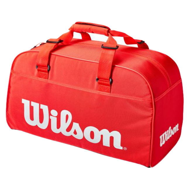[ラケット収納可]ウィルソン(Wilson) 2021 SUPER TOUR スーパーツアー スモールダッフルバッグ テニスバッグ WR8011001001-インフラレッド(21y3m)