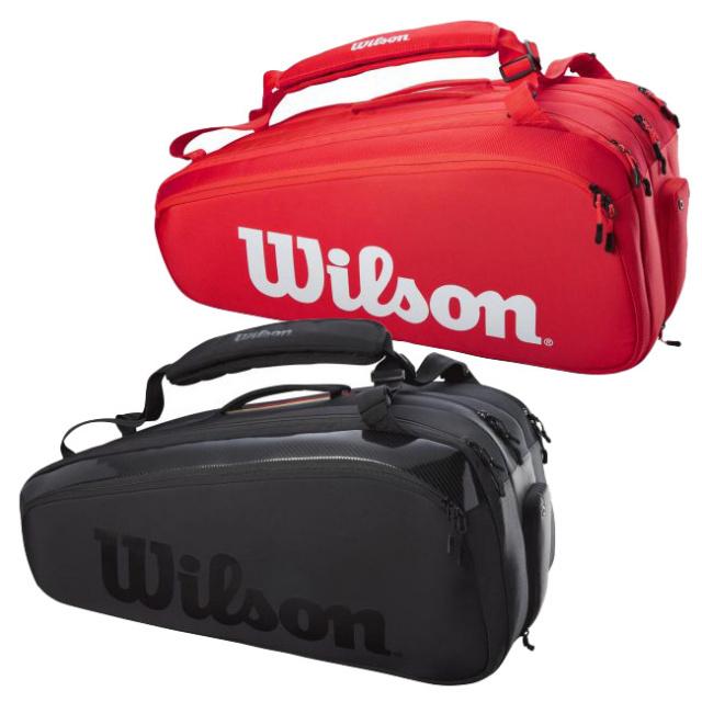 [15本収納]ウィルソン(Wilson) 2021 SUPER TOUR 15PK スーパーツアー15PK ラケットバッグ テニスバッグ WR8010301001/WR8010401001(21y3m)