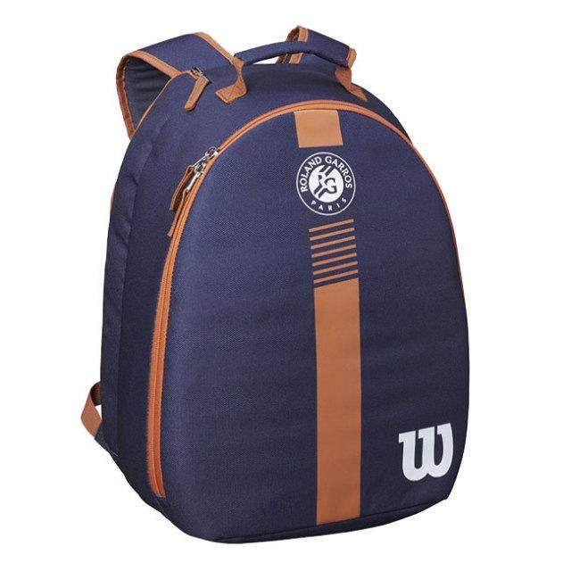 ウィルソン(Wilson) ジュニア Roland Garros ローランギャロス バックパック WR8007101001-ネイビー×クレイ(21y3m)