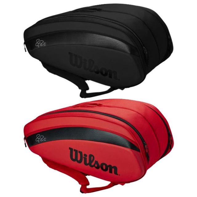 [ロジャーフェデラー][12本収納]ウィルソン(Wilson) 2020 フェデラー DNA ラケットバッグ テニスバッグ WR8006001001/WR8006002001(20y2m)