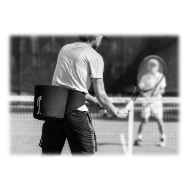 ロビン・ソダーリング(RobinSoderling) 監修 RS Tennis RS コーチ ボールバッグ(18y6m)
