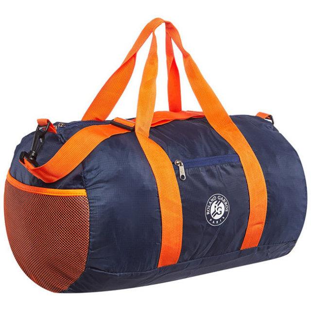 ローランギャロス 2020 オフィシャル ダッフルバッグ 折りたたみ式バッグ 全仏オープン 203RGS205BRR-Navy×Orange(20y7m)