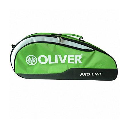 [バドミントン・スカッシュ][3本収納]OLIVER(オリバー) PRO LINE(プロライン) 一層ラケットバッグ C55023-ライムグリーン(20y2m)