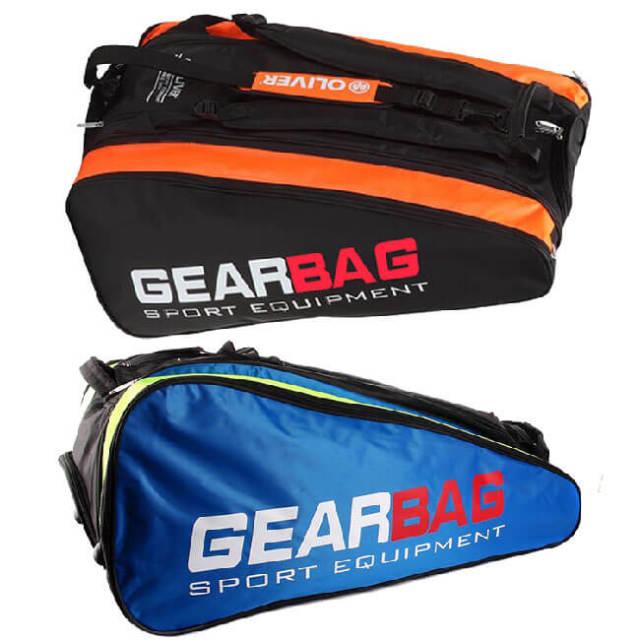 [バドミントン・スカッシュ][12本収納]OLIVER(オリバー) GEAR BAG(ギアバッグ) 3層バッグ ラケットバッグ C06049/C06050(20y2m)
