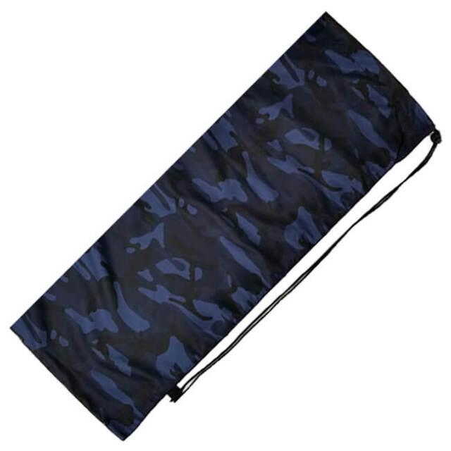 [はっ水加工]フェリーチェ(felice) バドミントンラケット用ソフトケース(1本用) -迷彩柄ブルー(20y9m)