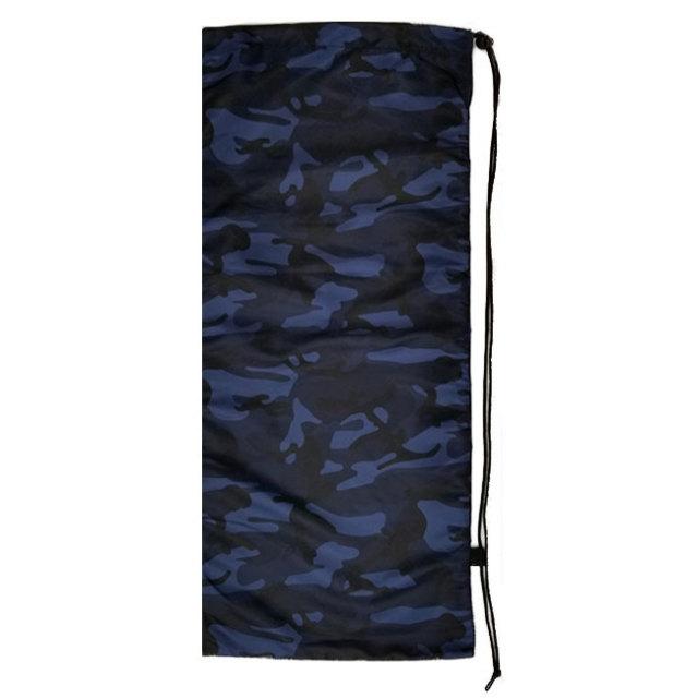 [はっ水加工]フェリーチェ(felice) テニスラケット用ソフトケース(2本収納可) 迷彩柄ブルー (19y10m)