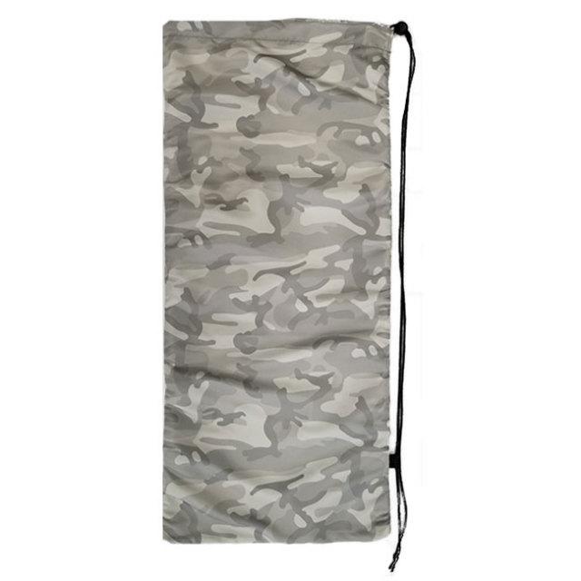 [はっ水加工]フェリーチェ(felice) テニスラケット用ソフトケース(2本収納可) 迷彩柄ホワイト (19y10m)