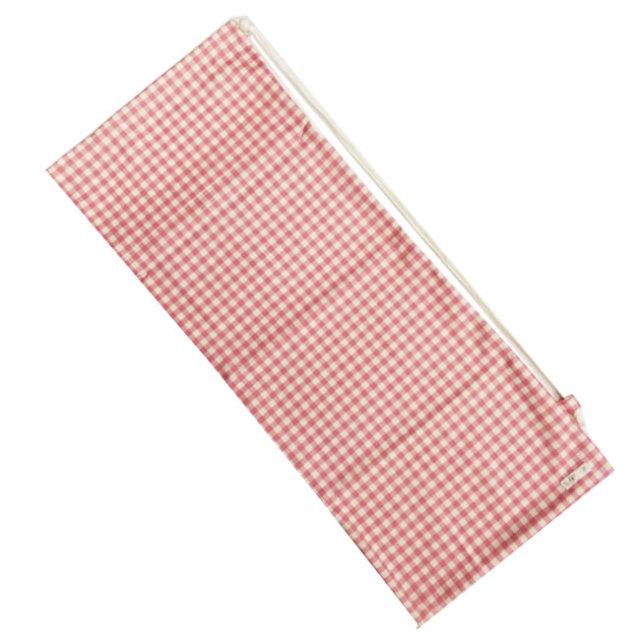 [ラケットケース 便利なソフトタイプ]フェリーチェ(felice) テニスラケット用ソフトケース(2本収納可) ギンガムチェック(ピンクxオフホワイト) (19y9m)