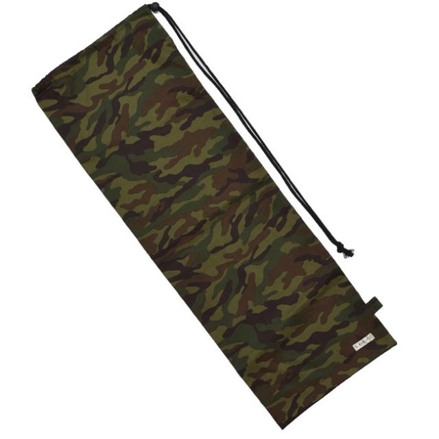 フェリーチェ(felice) バドミントンラケット用ソフトケース(1本用)カモフラグリーン迷彩柄(18y9m)