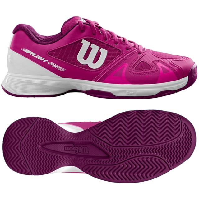 ウィルソン(Wilson) ラッシュプロ ジュニア 2.5 (オールコート用) WRS324010 ジュニアテニスシューズ