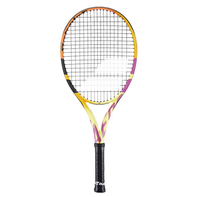 [グラファイト素材][ラファエル・ナダル]バボラ(Babolat) 2021 ピュアアエロ ラファ JR (250g) 海外正規品 硬式テニスジュニアラケット 140435-352(21y4m)[NC]