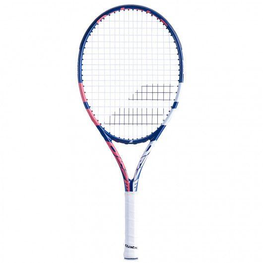 [グラファイトコンポジット素材]バボラ(Babolat) 2021 DRIVE JR25GIRL ドライブJR25ガール(230g) 海外正規品 硬式テニスジュニアラケット 140431-348(21y2m)[AC]
