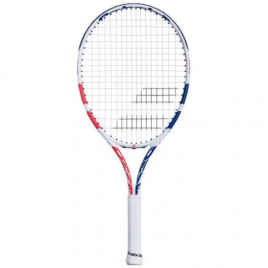 [グラファイトコンポジット素材]バボラ(Babolat) 2021 DRIVE JR24GIRL ドライブJR24ガール(220g) 海外正規品 硬式テニスジュニアラケット 140423-301(21y2m)[AC]