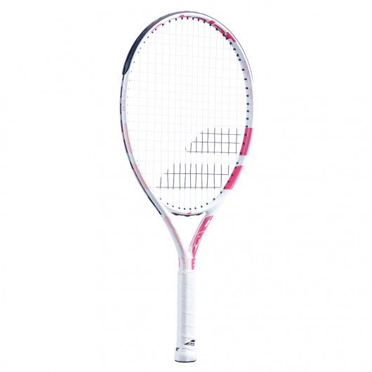 [グラファイトコンポジット素材]バボラ(Babolat) 2021 DRIVE JR23GIRL ドライブJR23ガール(215g) 海外正規品 硬式テニスジュニアラケット 140427-184(21y2m)[AC]