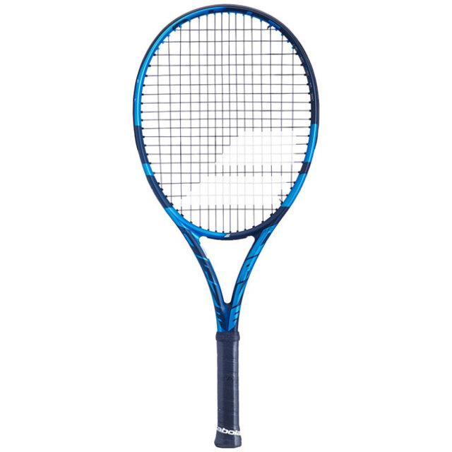[100%グラファイト素材]バボラ(Babolat) ピュアドライブ ジュニア26(250g) 2021 海外正規品 硬式テニスジュニアラケット 140418/140433-136 ブルー(20y10m)[NC]