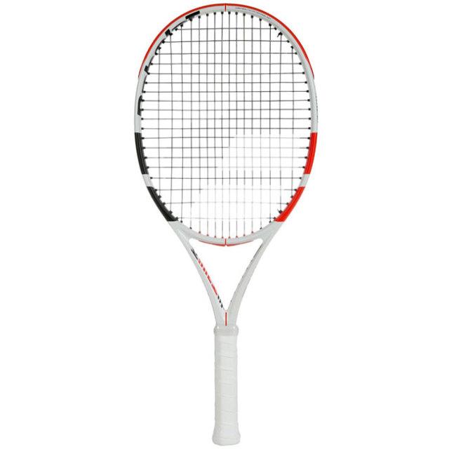 バボラ(Babolat) ピュアストライク ジュニア 25 (240g) Pure Strike Jr.25 海外正規品 硬式ジュニアテニスラケット 140400/140405-323WHITE×RED×BLACK(19y9m)[NC]