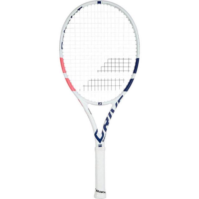 [100%グラファイト素材][ホワイト]バボラ(Babolat) 2018 ピュアドライブJr. 25(240g) 海外正規品 硬式ジュニアテニスラケット 140402-301 ホワイトxPKBL(19y9m)