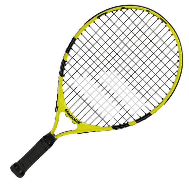 バボラ(Babolat) 2019 ナダルジュニア 19 (174g) イエローブラック 海外正規品 硬式テニスジュニアラケット 140246-191(19y2m)