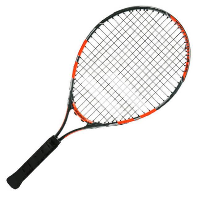 バボラ(Babolat) 2019 ボールファイター23 (205g) ブラックオレンジグレー 海外正規品 硬式テニスジュニアラケット 140240-312(19y2m)