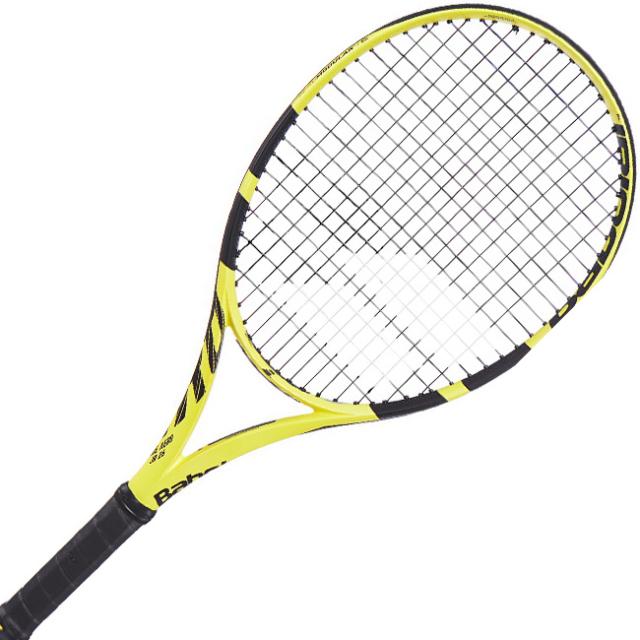 [グラファイト素材]バボラ(Babolat) 2019 ピュアアエロJr26(250g)(海外正規品) 140253-191 イエローブラック(18y10m)硬式ジュニアテニスラケット