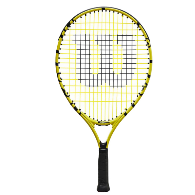 ウィルソン(Wilson) 2021 Wilson×Minions MINIONS JR 19 ミニオンズ ジュニア 19 (165g) 海外正規品 硬式ジュニアテニスラケット WR068910H(21y8m)[AC]