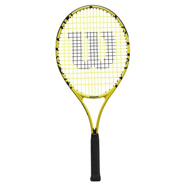 ウィルソン(Wilson) 2021 Wilson×Minions MINIONS JR 25 ミニオンズ ジュニア 25 (210g) 海外正規品 硬式ジュニアテニスラケット WR069210H(21y5m)[AC]