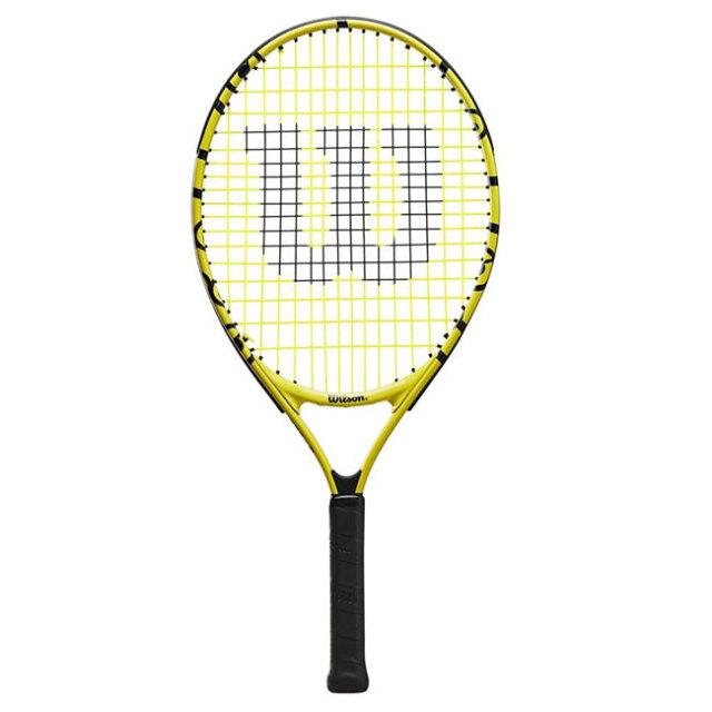ウィルソン(Wilson) 2021 Wilson×Minions MINIONS JR 23 ミニオンズ ジュニア 23 (190g) 海外正規品 硬式ジュニアテニスラケット WR069110H(21y5m)[AC]