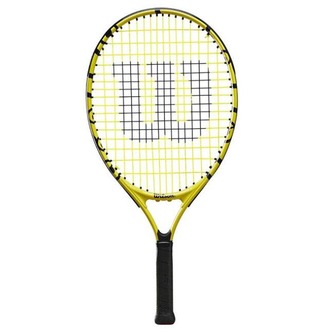 ウィルソン(Wilson) 2021 Wilson×Minions MINIONS JR 21 ミニオンズ ジュニア 21 (180g) 海外正規品 硬式ジュニアテニスラケット WR069010H(21y5m)[AC]