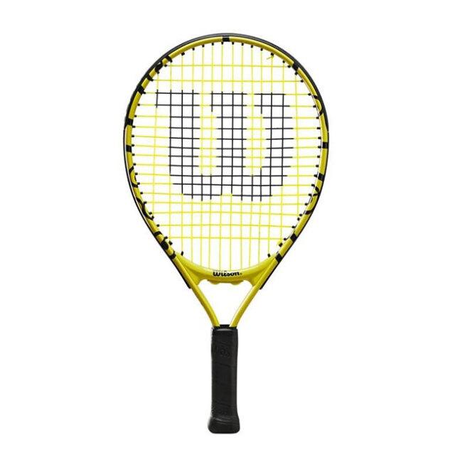 ウィルソン(Wilson) 2021 Wilson×Minions MINIONS JR 17 ミニオンズ ジュニア 17 (165g) 海外正規品 硬式ジュニアテニスラケット WR068810H(21y5m)[AC]