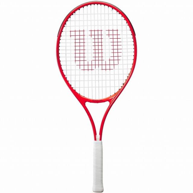 ウィルソン(Wilson) 2021 ROGER FEDERER25 ロジャーフェデラー25 (225g) 海外正規品 硬式ジュニアテニスラケット WR054310H-レッド(21y3m)[AC]