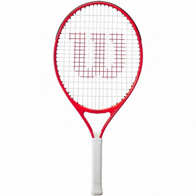 ウィルソン(Wilson) 2021 ROGER FEDERER23 ロジャーフェデラー23 (190g) 海外正規品 硬式ジュニアテニスラケット WR054210H-レッド(21y3m)[AC]
