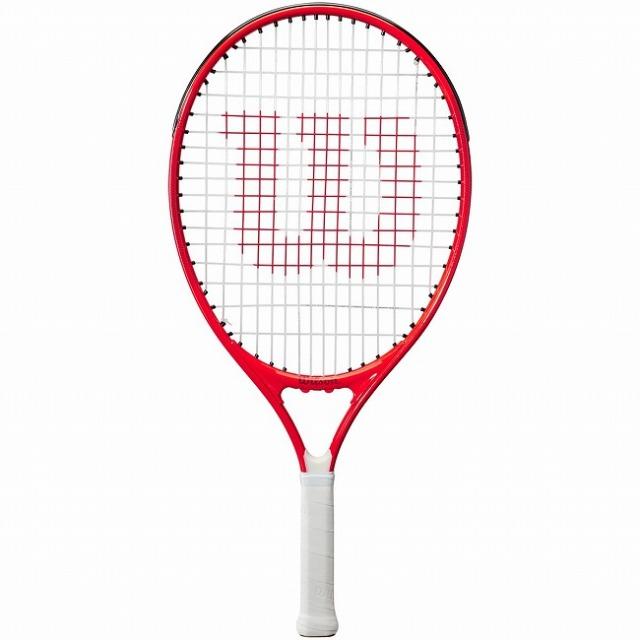 ウィルソン(Wilson) 2021 ROGER FEDERER21 ロジャーフェデラー21 (180g) 海外正規品 硬式ジュニアテニスラケット WR054110H-レッド(21y3m)[AC]