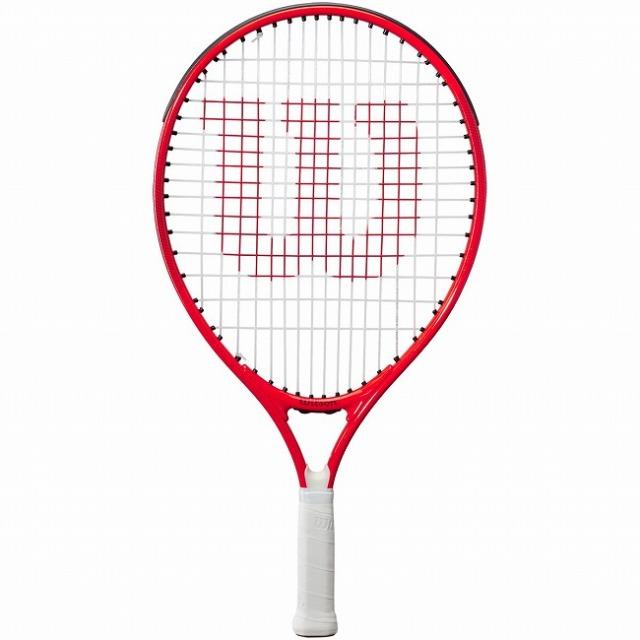 ウィルソン(Wilson) 2021 ROGER FEDERER19 ロジャーフェデラー19 (165g) 海外正規品 硬式ジュニアテニスラケット WR054010H-レッド(21y3m)[AC]