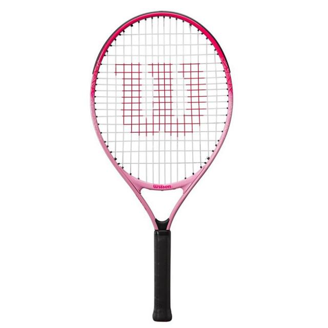 ウィルソン(Wilson) BURN PINK23 バーンピンク23 (205g) 海外正規品 硬式ジュニアテニスラケット WR052510H-ピンク(21y3m)[AC]
