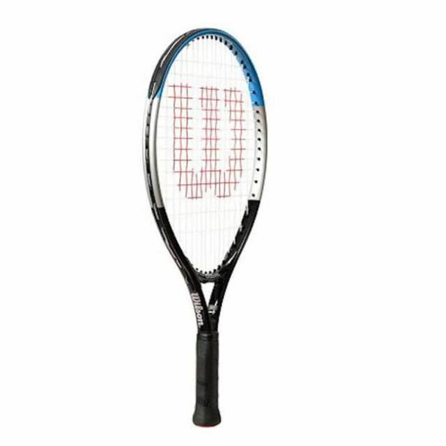 ウィルソン(Wilson) ウルトラ 17 (170g) 海外正規品 硬式ジュニアテニスラケット WR050010H-ブラック×ブルー(20y6m)
