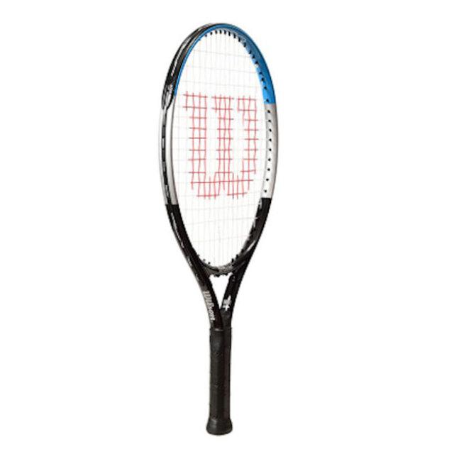 ウィルソン(Wilson) ウルトラ 19 (175g) 海外正規品 硬式ジュニアテニスラケット WR049910H-ブラック×ブルー(20y6m)[NC]