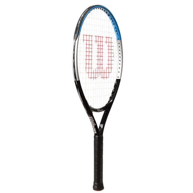 ウィルソン(Wilson) ウルトラ 21 (195g) 海外正規品 硬式ジュニアテニスラケット WR049810H-ブラック×ブルー(20y6m)[NC]