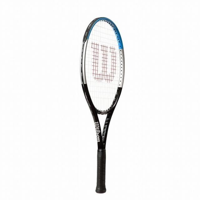 ウィルソン(Wilson) ウルトラ 23 (205g) 海外正規品 硬式ジュニアテニスラケット WR049710H-ブラック×ブルー(20y6m)[NC]