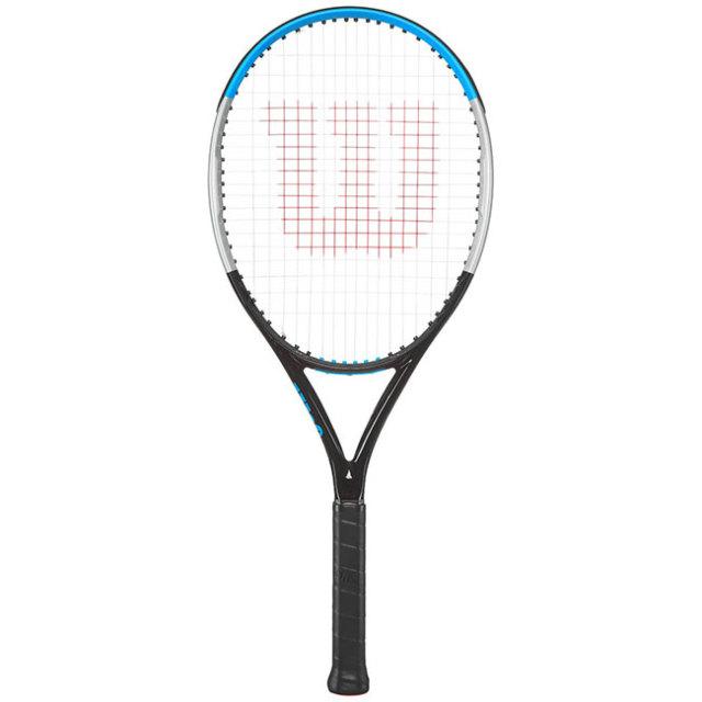 ウィルソン(Wilson) 2020 ウルトラ ジュニア26 V3.0 (245g) 海外正規品 硬式ジュニアテニスラケット WR043510-ブラック×シルバー×ブルー(20y4m)