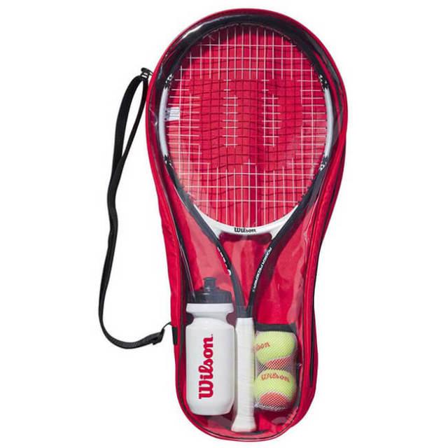 ウィルソン(Wilson) ロジャー フェデラー 25 ジュニアテニススターターセット WR026810(20y2m)[AC]