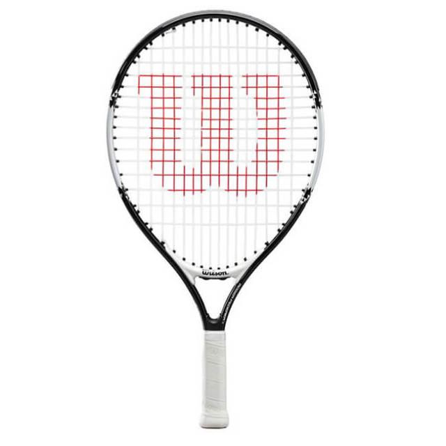 ウィルソン(Wilson) ロジャー フェデラー 19 (163g) 海外正規品 硬式ジュニアテニスラケット WR028610-ブラック×ホワイト(20y2m)[NC]