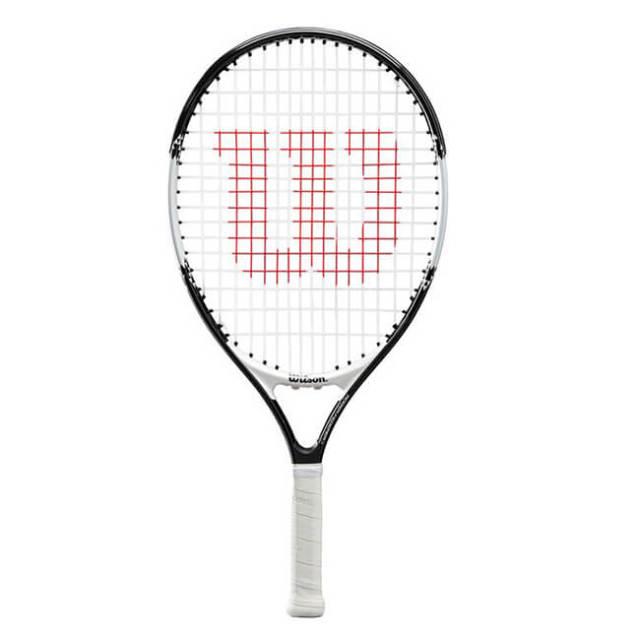ウィルソン(Wilson) ロジャー フェデラー 21 (183g) 海外正規品 硬式ジュニアテニスラケット WR028510-ブラック×ホワイト(20y2m)[NC]