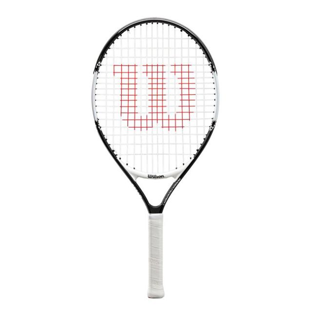 ウィルソン(Wilson) ロジャー フェデラー 23 (193g) 海外正規品 硬式ジュニアテニスラケット WR028410-ブラック×ホワイト(20y2m)[NC]