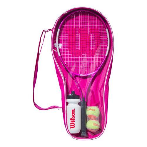 ウィルソン(Wilson) ウルトラピンク25 ジュニアテニススターターセット WR026710-ピンク(20y1m)[AC]
