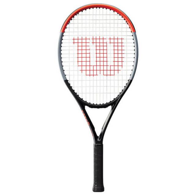 ウィルソン(Wilson) CLASH(クラッシュ) ジュニア 25 V1.0 (240g) 海外正規品 硬式ジュニアテニスラケット WR016210-ブラック×レッド(20y1m)[NC]