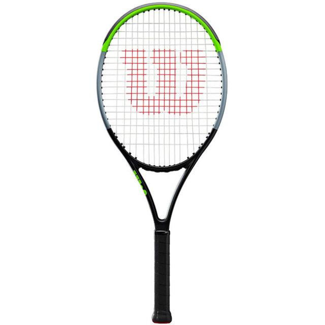 ウィルソン(Wilson) ブレード26 V7.0 (海外正規品) ジュニアテニスラケット WR014310-ライムグリーン×ブラック×シルバー(19y12m)[NC]