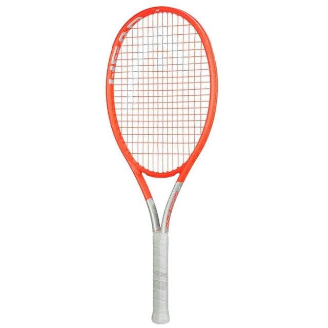 ヘッド(HEAD) 2021 ジュニア グラフィン360+ ラジカルJR Radical JR 26(245g) 海外正規品 硬式テニスジュニアラケット 235201-オレンジ×シルバー(21y2m)[AC]