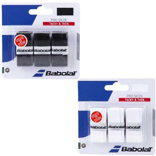 【3回分】バボラ 2016 プロスキン オーバーグリップテープ【全2色】 653036 (Babolat Pro Skin 3Pack)(16y4m)